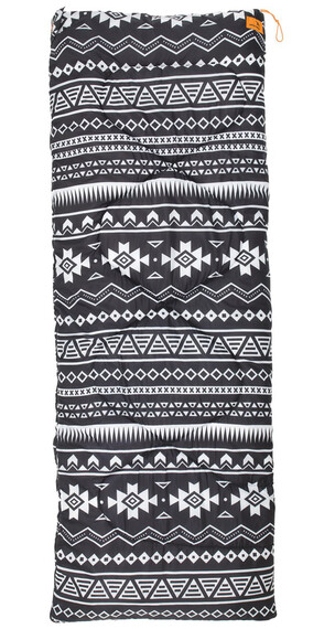 Easy Camp Tribal Black & White Sovsäck vit/svart